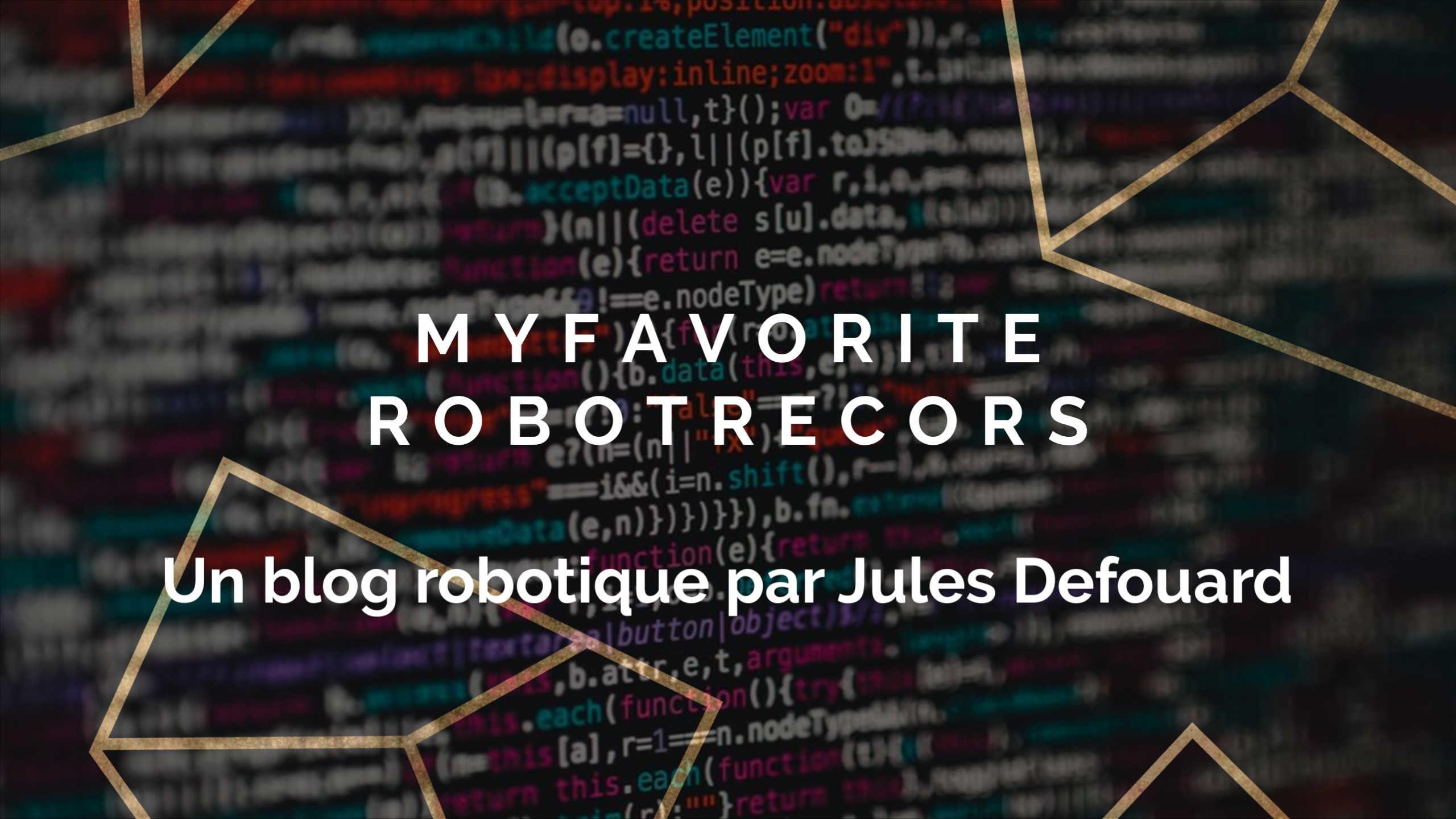 Mes Robots Favoris: Nettoyage propreté et nouvelles technologies